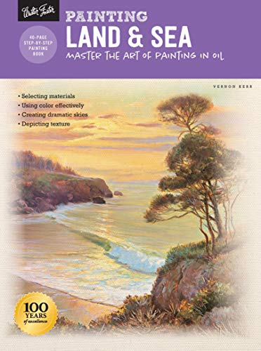 Land Patchwork Rock (Painting: Land & Sea: Master the art of painting in oil (How to Draw & Paint))
