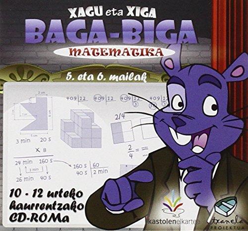 (usb) Lh 5/6 - Matematika (xagu Eta Xiga) (Testuliburu Berriak) por Batzuk
