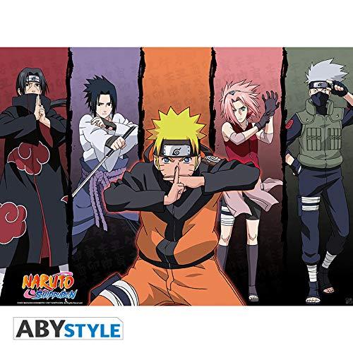 ABYstyle Abysse Corp_ABYDCO171 Naruto - Póster del Grupo de enviados (52 x 38)