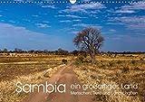 Sambia - ein großartiges Land (Wandkalender 2019 DIN A3 quer): Sambia ist ein großartiges, touristisch noch wenig erschlossenes, Land mit ... (Monatskalender, 14 Seiten ) (CALVENDO Orte)