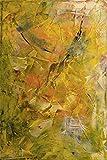 Artland Qualitätsbilder I Bild auf Leinwand Leinwandbilder Wandbilder 60 x 90 cm Abstrakte Motive Gegenstandslos Spachteltechnik Gelb C6QC Bild 21