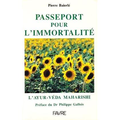 Passeport pour l'immortalité : l'Ayur-veda Maharishi