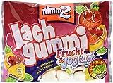nimm2 Lachgummi Frucht & Joghurt – Spaßiges Fruchtgummi mit Vitaminen – 18er Pack (18 x 200g)