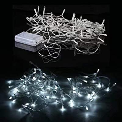LED Lights Battery Operated Decorative String Lamp for Valentine's Day Wedding Garden Bedroom Festival Birthday Party Decoration : everything 5 pounds (or less!)