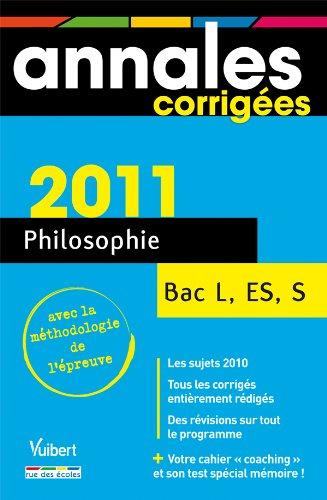 Philosophie Bac L, ES, S