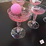 Classy Pong Drinking Game - Prosecco Wine Champagne - Hen Party Bridal / Baby Shower / Girls Party (1 x Game)