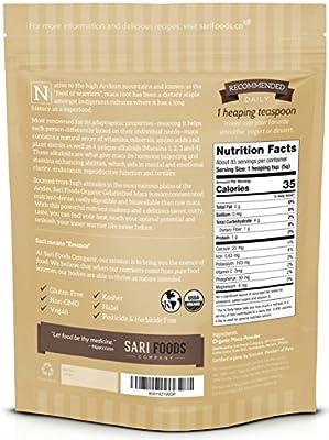 Organic Gelatinised Maca Powder (15 Oz) Natural Plant Based Superfood: Hormone Balancing & Stamina Enhancing Abilities, Aids Mental & Emotional Clarity, Reproductive Function & Fertility