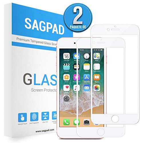 SAGPAD [2 Piezas] Cristal Templado iPhone 6 Plus