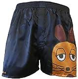 Sendung mit der MAUS BOXERSHORTS Herren Boxers Shorts Unterhosen Boxershorts, Farbe:2. Maus/Schwarz;Größe:XS