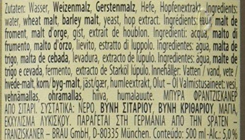 Franziskaner Weissbier Cerveza - 0,5 l