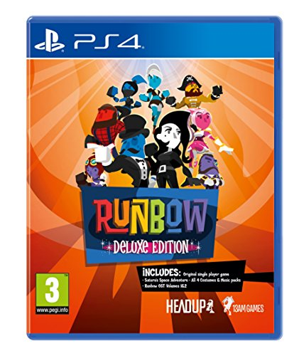 Runbow Deluxe Edition (PS4) Best Price and Cheapest