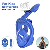 Unigear Maschera Subacquea, Maschera da Snorkeling per Adulti e Bambini (Blu XS per bambini)