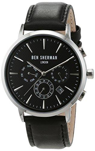 reloj-de-cuarzo-de-los-hombres-de-ben-sherman-con-esfera-analogica-y-correa-de-cuero-negro-wb028ba