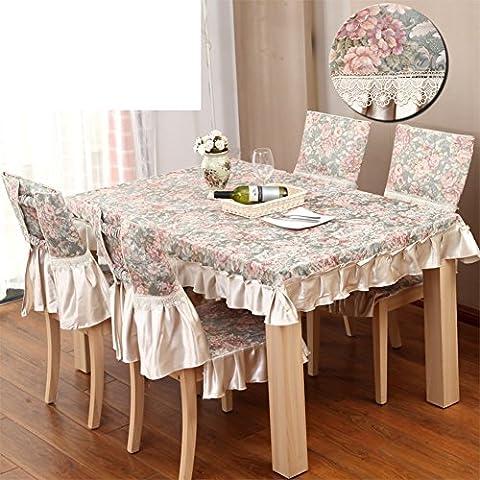DLS OIU Tessuto tovaglia occidentale continentale/ tavolo/ tavolo-G