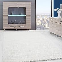Teppiche Hochflor PRIME Shaggy Für Wohnzimmer, Esszimmer. Gästezimmer Mit 3  Cm Florhöhe. Einfarbig
