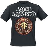 Amon Amarth The Pursuit of Vikings T-Shirt schwarz L