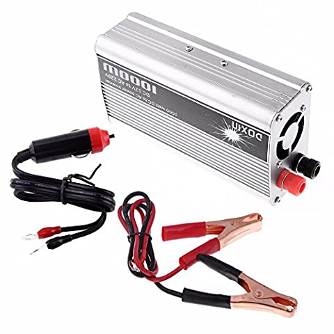 BoomBoost Portable 1000W Car Power Inverter Adaptateur