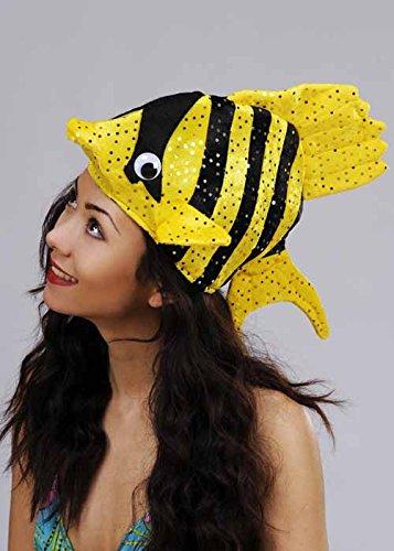 Struts Fancy Dress Lustige tropischer Fisch Hut farbige