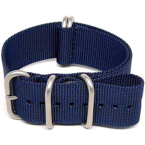 daluca-ballistic-nylon-nato-watch-strap-navy-matte-buckle-24-mm