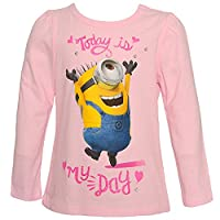 Despicable Me Little Girls Pink Minions