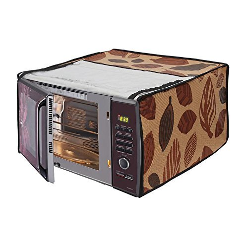 Stylista Microwave Oven Cover for Onida 23 L Convection MO23CJS11B, Printed
