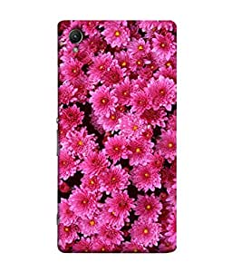 Fuson Designer Back Case Cover for Sony Xperia Z5 :: Sony Xperia Z5 Dual 23MP (Colourful Vibrant Flowers Flowery Design )