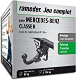 Attelage rotule démontable pour Mercedes-Benz Classe R + Faisceau 7 Broches...