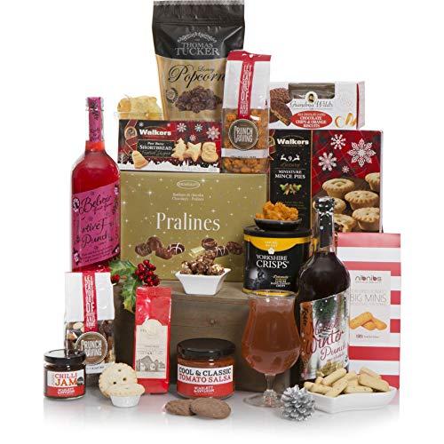 Para toda la oficina en Navidad - La cesta perfecta para compartir esta Navidad - Cestas de Navidad