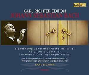 Karl Richter Edition - Johann Sebastian Bach (Brandenburgische Konzerte, Orchestersuiten)