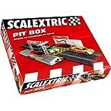 Scalextric Original - Pit Box para añadir variable de de combustible a circuitos Scalextric Original (8875)