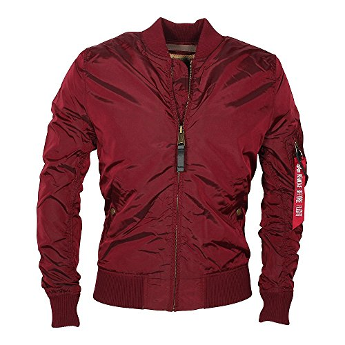 Alpha Industries MA-1 TT Jacke XXXL burgundy