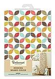 Cooksmart Medium 116x 35cm Bügelbrett Cover, Retro Design