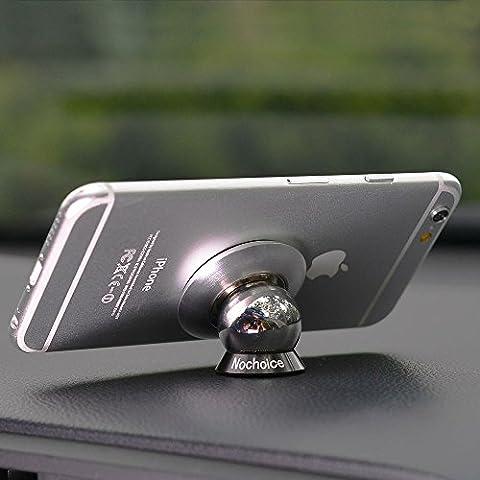 Nochoice® Soporte Magnético Universal de Soporte Auto Car Mount Metálico de 360° Rotación para IPHONE SAMSUNG HUAWEI teléfono inteligente Tablet etc(42