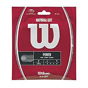 Wilson Natural Gut 17 Tennis String Review 2018 from Wilson