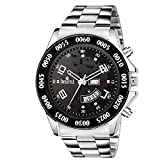 #8: Swisstyle Black dial Day and Date Display Analog Watch-SS-GR0067-BLK-CH
