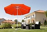 Schneider umbrella Pisa, terra cotta, ca. 300cm Ø, 8-part, round