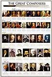 Affiche \'Compositeurs classiques|Classical Composers\', Taille: 61 x 91 cm