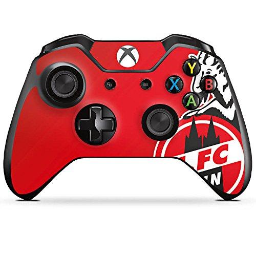 DeinDesign Microsoft Xbox One Controller Folie Skin Sticker aus Vinyl-Folie Aufkleber 1. FC Köln Fanartikel Fussball
