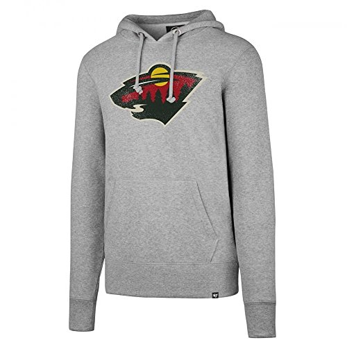 Wild Knockaround Hoodie NHL Sweatshirt Grau, S ()