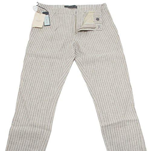 83791 pantaloni lunghi SIVIGLIA LINO jeans uomo trousers men [30]