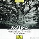 Brahms : Symphonies 1 � 4 (Coffret 3CD)
