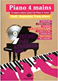 Piano 4 mains 8 chansons franc