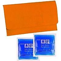 2 Stück Kalt-Warm Kompressen Gelkissen Kühlkissen ca. 14,5 cm x 14,5 cm mit praktischer Filz-Tasche 27,5 x 20,0... preisvergleich bei billige-tabletten.eu