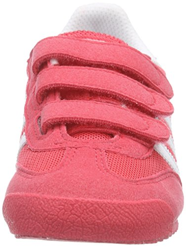 adidas Dragon Cf C, Baskets Basses Fille Rose (joy/ftwwht/joy)