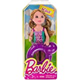 "Kira w/ Whale Inner Tube: Barbie Chelsea & Friends Pool Collection ~5.25"" Doll Figure"
