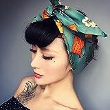 Jovono Fashion Headbands American stampa coniglio orecchio fascia per  capelli per donne e ragazze 76c353689e14