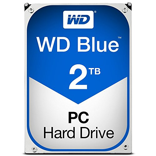 WD Blue 2TB  Desktop Hard Disk Drive - 5400 RPM SATA 6 Gb/s 64MB Cache 3.5 Inch Test
