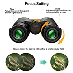 High Power Binoculars, Kylietech 12x42 Binocular for Adults with BAK4 Prism, FMC Lens, Fogproof & Waterproof Great for…