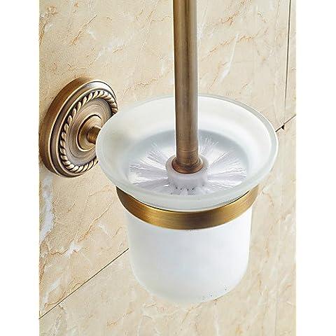 MEIREN nuovo stile di design funzionale wc marrone porta spazzola