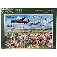 Falcon de Luxe - Amazing Airshow Jigsaw Puzzle (1000 Pieces)